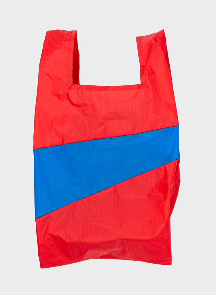 SUSAN BIJL Shopping Bag Redlight & Blueback