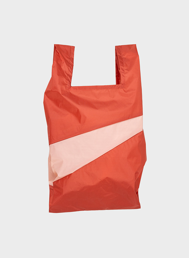 SUSAN BIJL Shopping Bag Rust & Powder