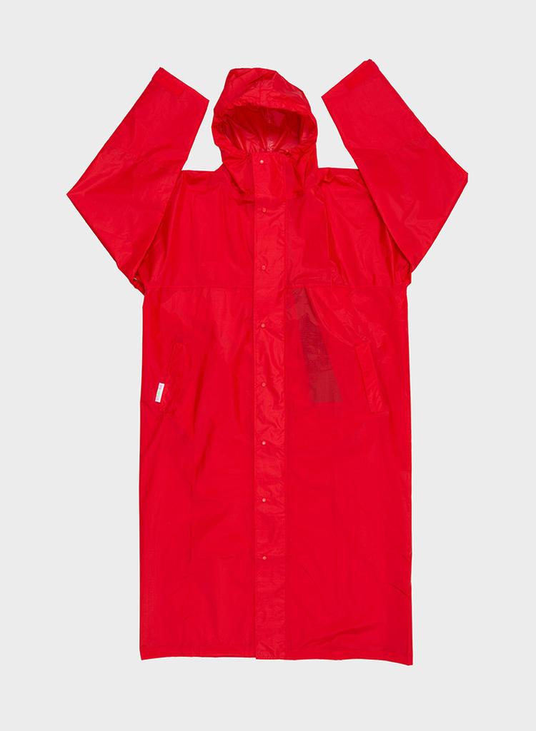 SUSAN BIJL Raincoat Redlight