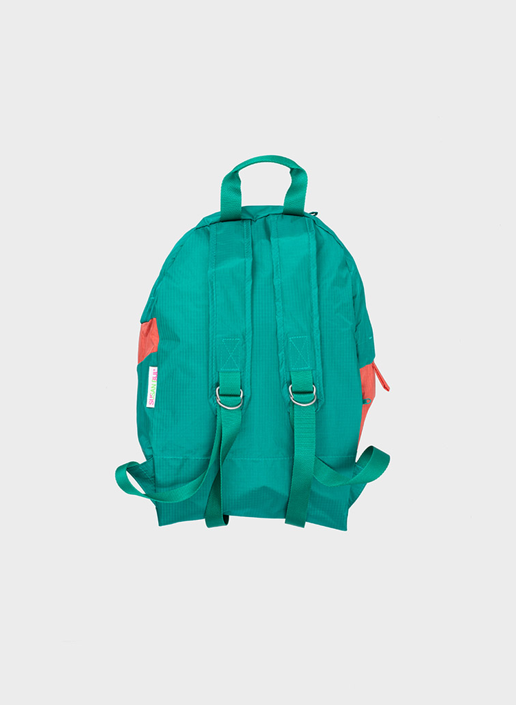 SUSAN BIJL Foldable Backpack Seaweed & Salmon