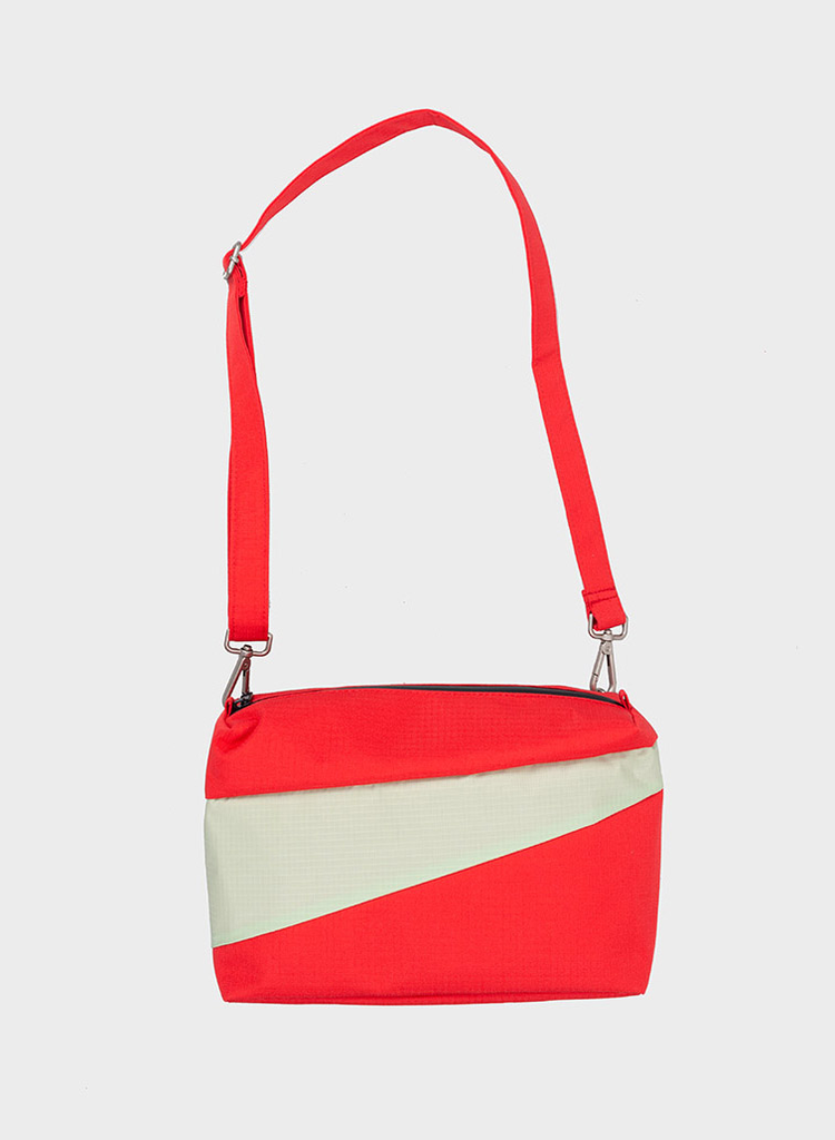 SUSAN BIJL Bum Bag Redlight & Pistachio