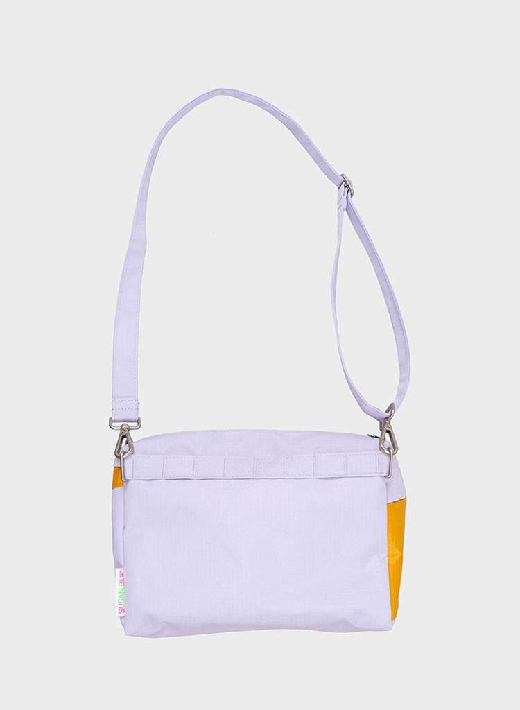SUSAN BIJL Bum Bag Lavender & Moutarde