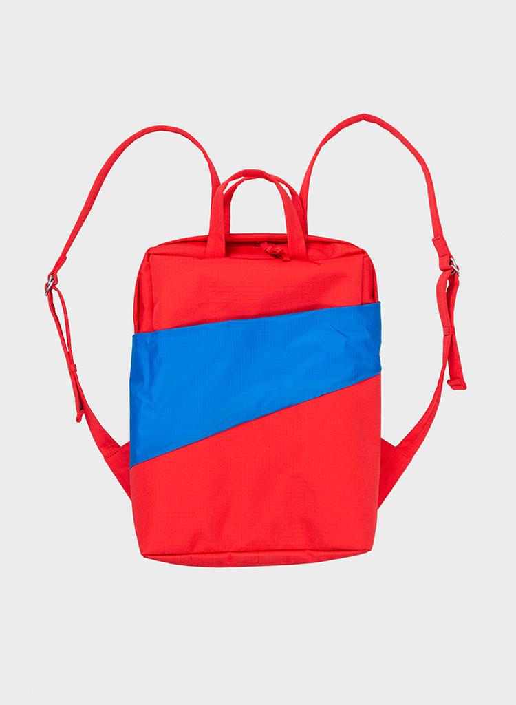 SUSAN BIJL Backpack Redlight & Blueback