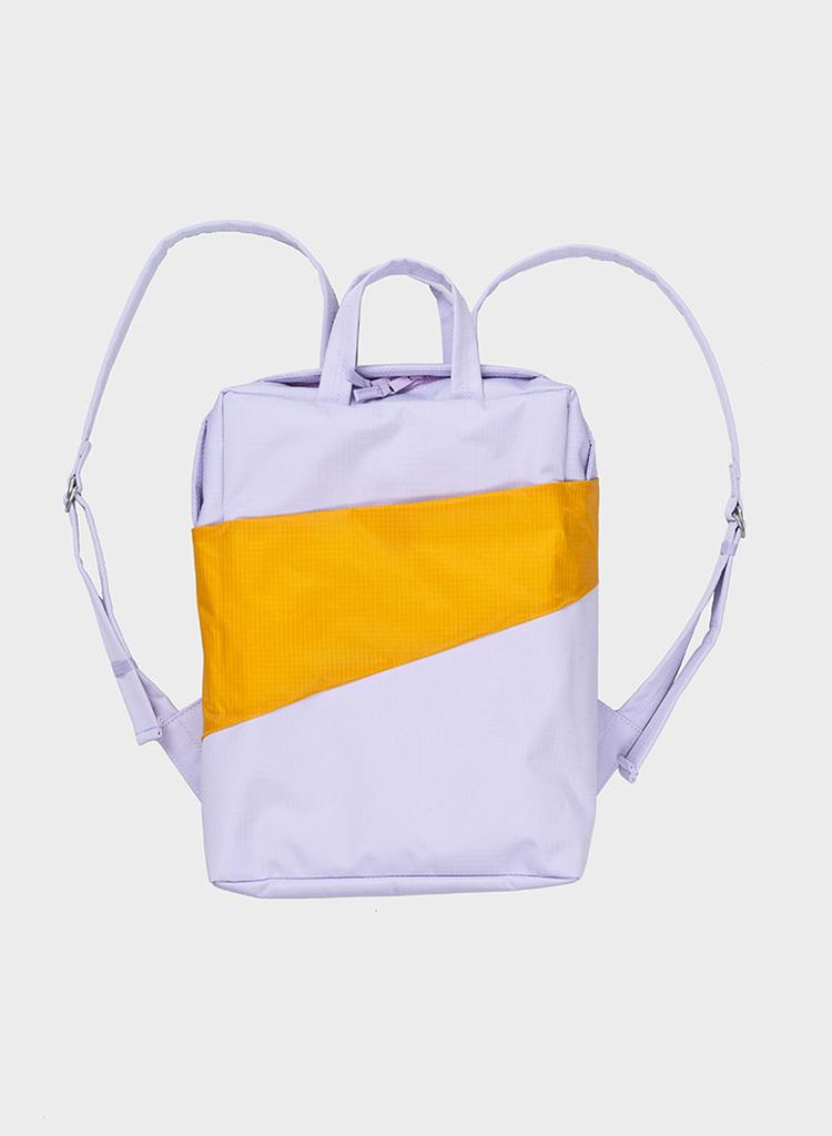 SUSAN BIJL Backpack Lavender & Moutarde