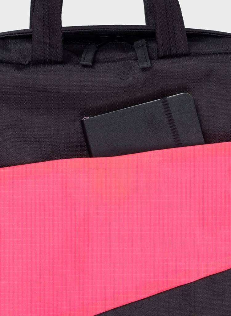 SUSAN BIJL Backpack Black & Fluo Pink