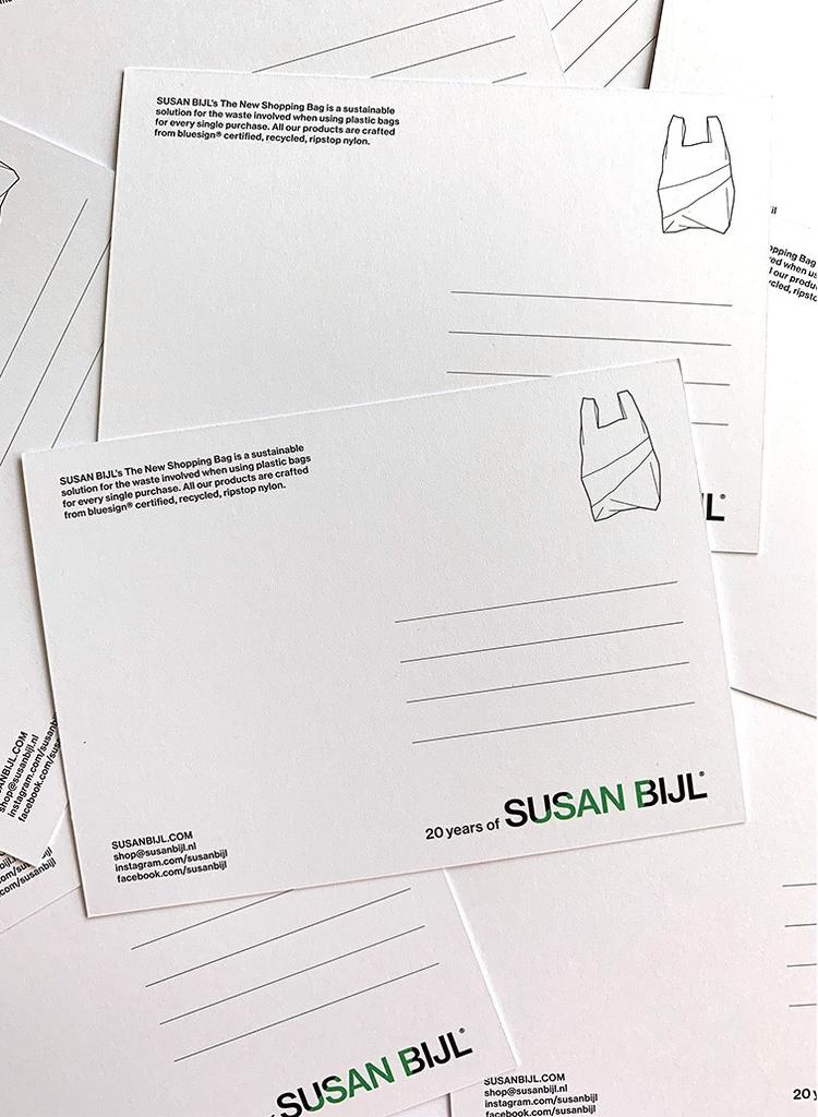 SUSAN BIJL Greeting Card - write your personal message in the checkout