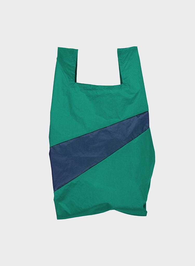 SUSAN BIJL Shopping Bag Seaweed & Ocean