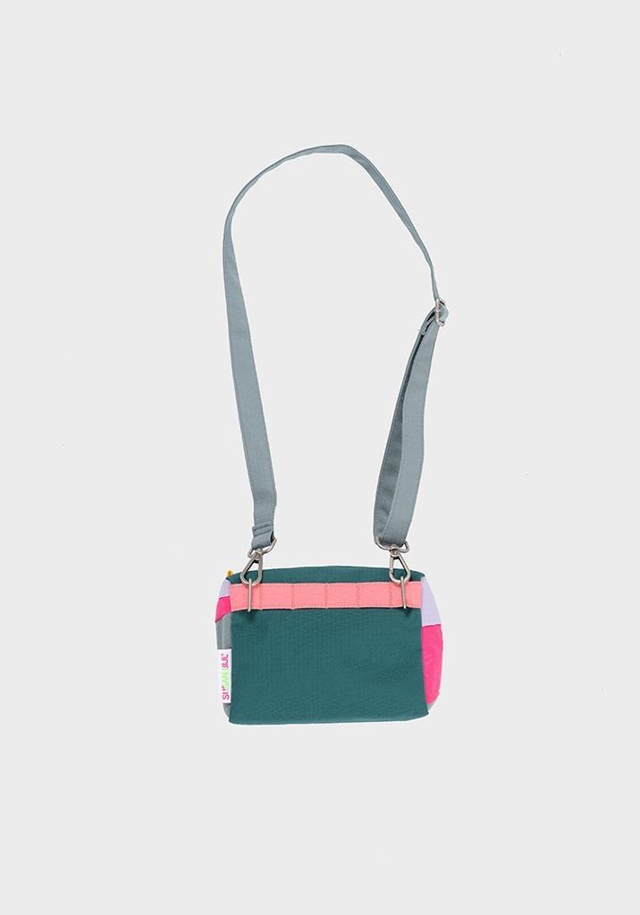 SUSAN BIJL Bum Bag Party Fluo Pink, S