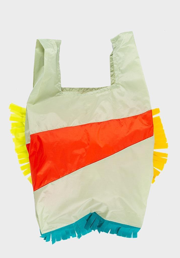 SUSAN BIJL Shopping Bag Fringe Party Red Alert