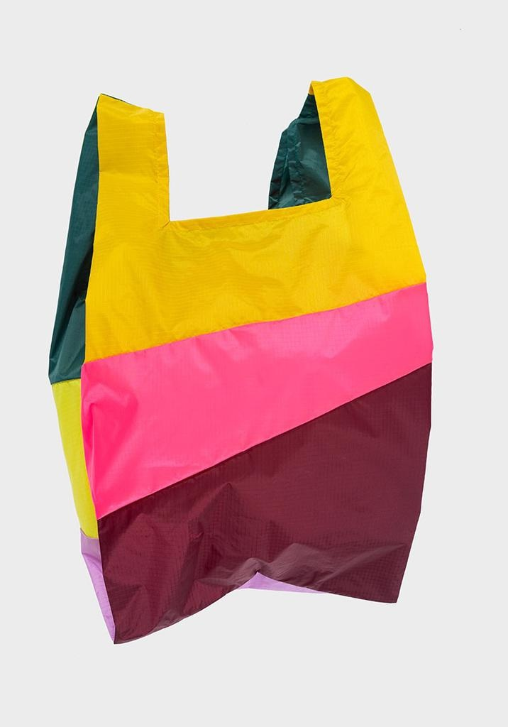 SUSAN BIJL Shopping Bag Party Fluo Pink
