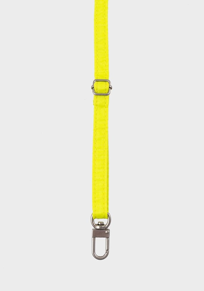 SUSAN BIJL Strap, Fluo Yellow