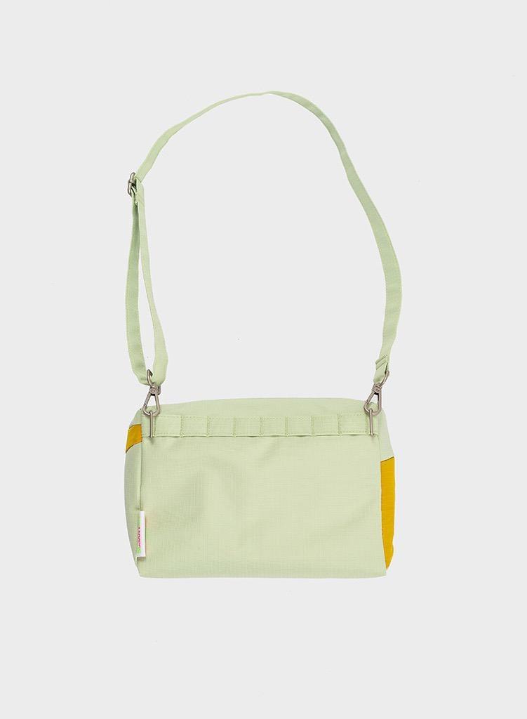 SUSAN BIJL Bum Bag Pistachio & Helio