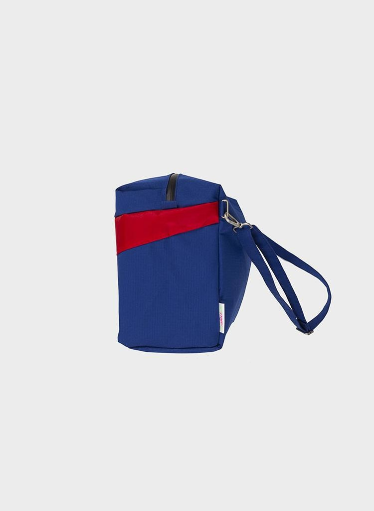 SUSAN BIJL 24/7 Bag, Electric Blue & Redlight