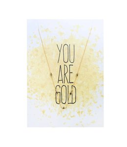 YOU ARE GOLD CARD GOLD