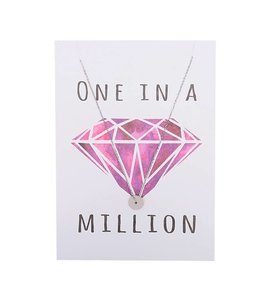 ONE IN A MILLION CARD SILVER
