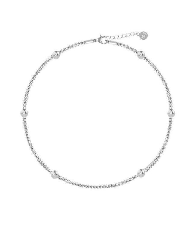 MY JEWELLERY CHAIN & DOTS ANKLET SILVER