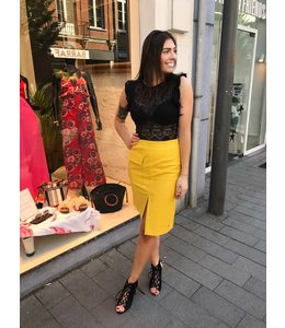 SKIRT CHARLINE YELLOW