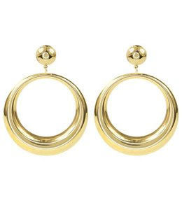 MY JEWELLERY STATEMENT HOOPS GOLD