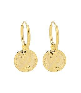 CAESAR EARRINGS GOLD