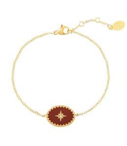 MILORD BRACELET RED/GOLD