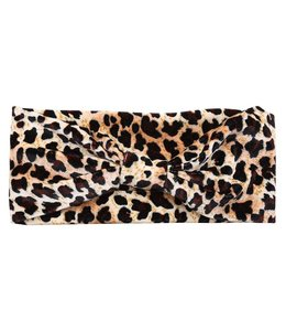 DUSTY LEOPARD HEADBAND