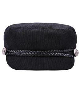 SAILOR HAT CORDUROY BLACK
