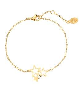 SWEET STARS BRACELET GOLD