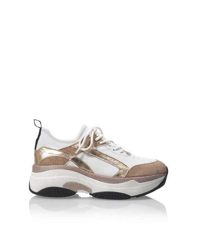 DWRS THE LABEL DWRS MINSK DAD SNEAKERS WHITE/ROSE