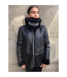 REINDERS LAMMY COAT BLACK