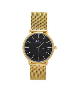 MINUTE OF FAME WATCH GOLD/BLACK