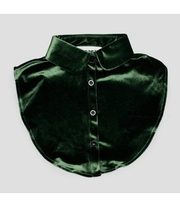 PINNED BY K COLLAR VELVET GREEN