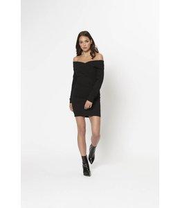 DRESS HELSA BLACK
