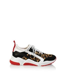 DWRS THE LABEL RIGA - SNEAKERS - LEOPARD / ROOD