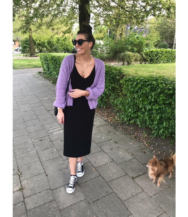 42394f477a8336 LOFTY MANNER DRESS EVITA BLACK - Jess