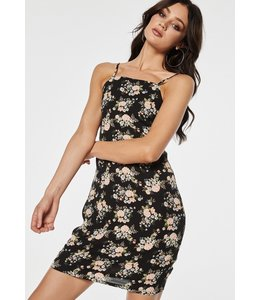 TURI DRESS PINK FLOWERS