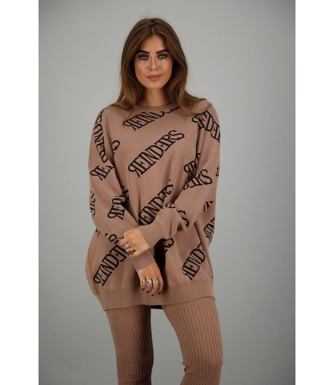 REINDERS  SWEATER ROUNDNECK ALL OVER