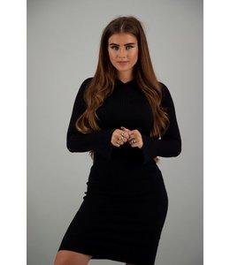 REINDERS OLIJN DRESS TRUE BLACK