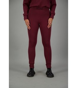 REINDERS LEGGING BURGUNDY/BORDEAUX