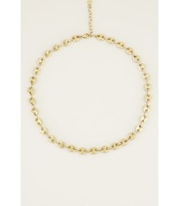 MY JEWELLERY MOMENTS NECKLACE BOLD GOUD