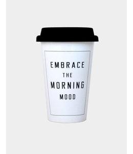 TAKE AWAY MUG EMBRACE MORNING MOOD