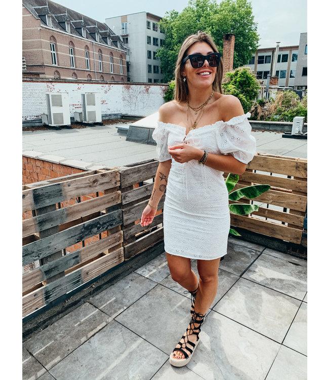 JENNY DRESS WHITE