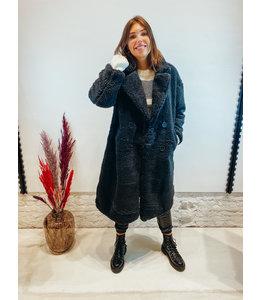 MARIE TEDDY COAT BLACK