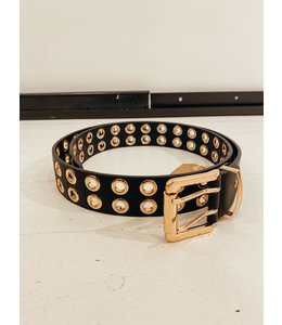 IVY BELT BLACK/GOLD