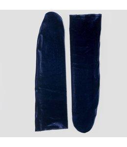 PINNED BY K VELVET SOCKS BLUE