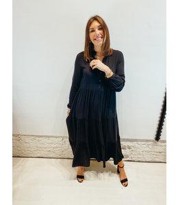 CAMILLE LONG DRESS BLACK