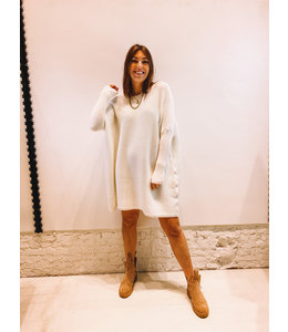 DAGMAR DRESS OFF WHITE