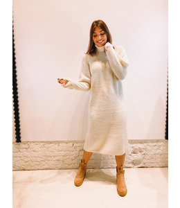 ALICE KNITTED DRESS CREME