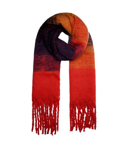 SCARF SOFT MIXED RED