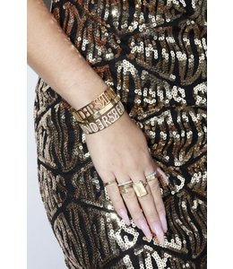 REINDERS BANGLE DIAMONDS GOLD