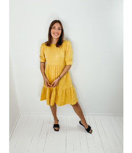CORNELIA DRESS - YELLOW